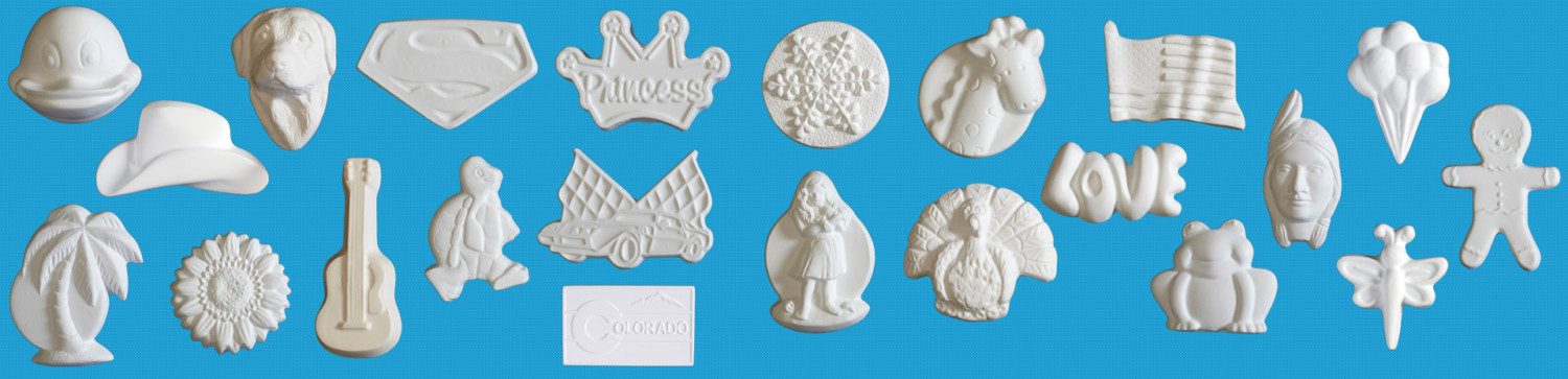 Quality Plaster Magnets Ornaments Frames and Trinket Boxes